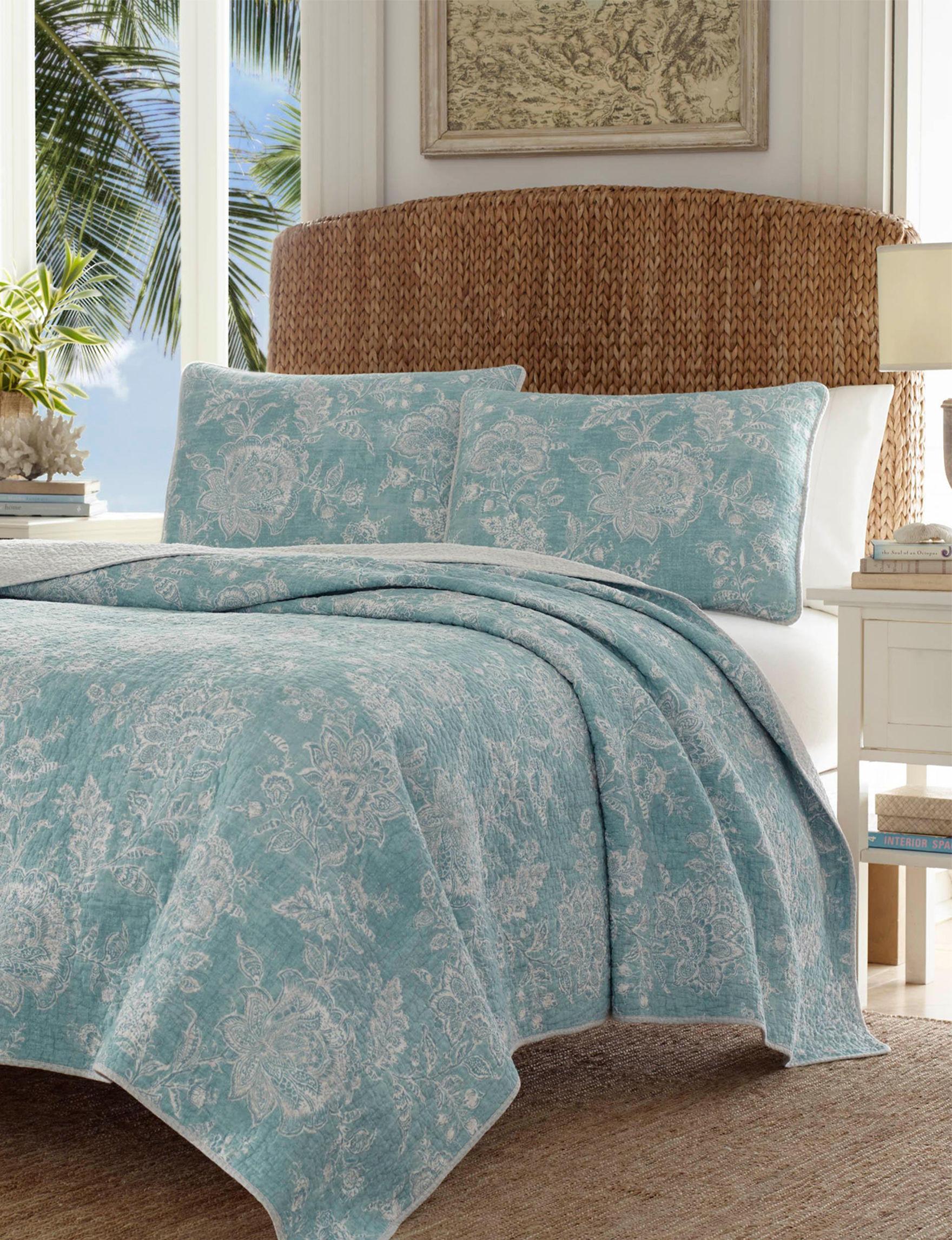 Tommy Bahama Aqua Quilts & Quilt Sets