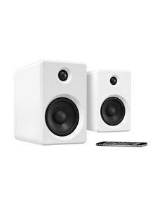 Innovative Technology White Speakers & Docks Home & Portable Audio