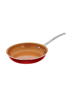 Gotham Steel Red Frying Pans & Skillets Cookware