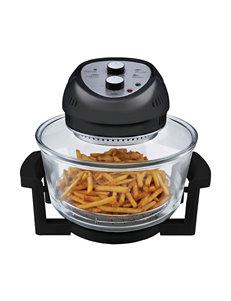 Big Boss Black Fryers Cookware Kitchen Appliances