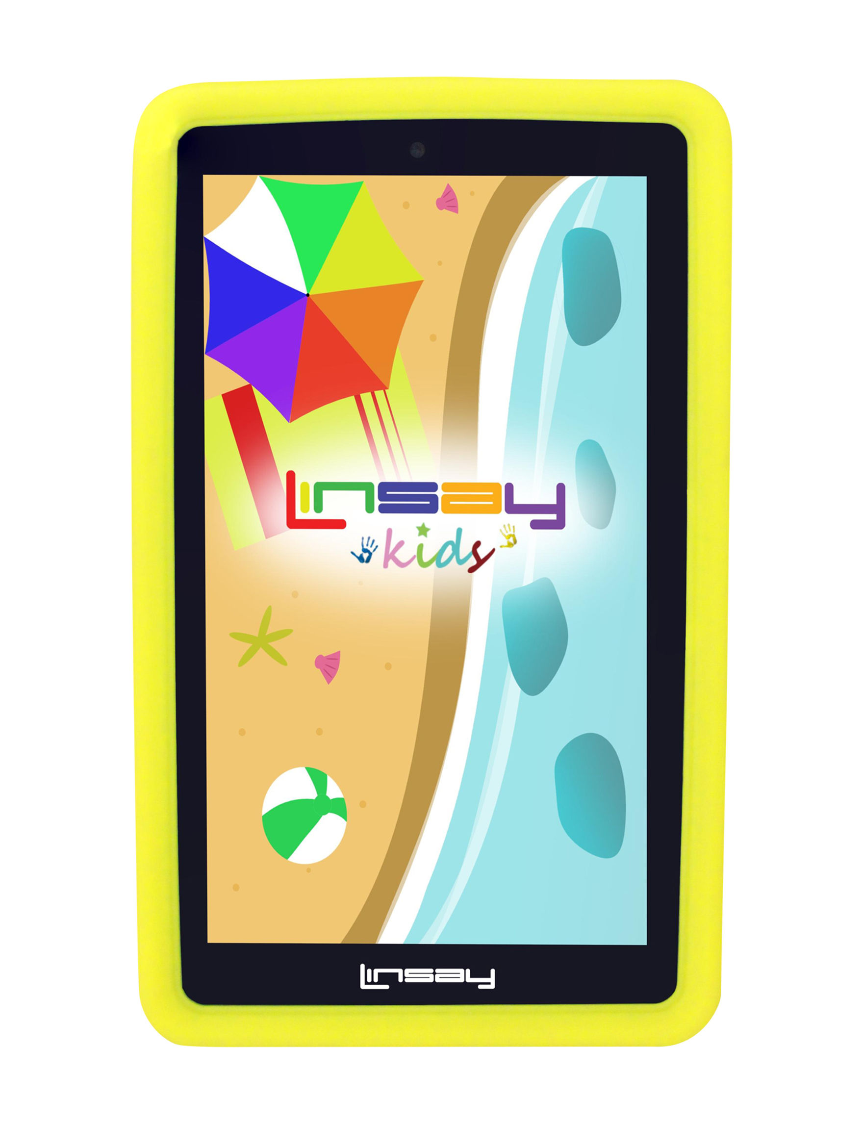Linsay Yellow Tablets Computers & Tablets