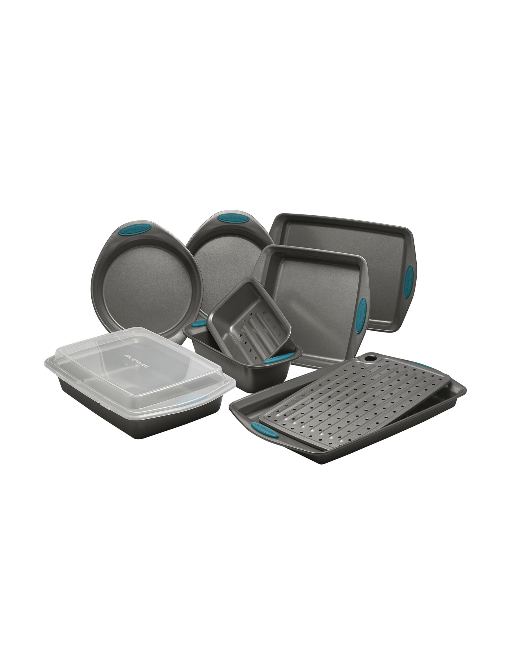 Rachael Ray Grey Bakeware Sets Bakeware