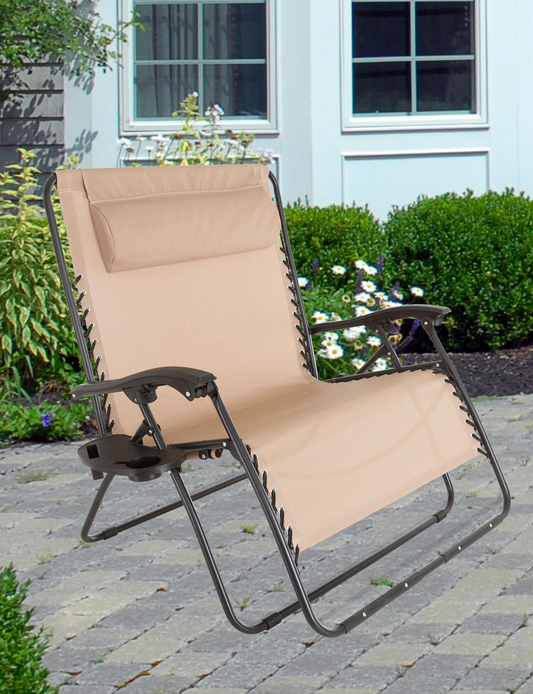 Trademark Global Beige Patio & Outdoor Furniture