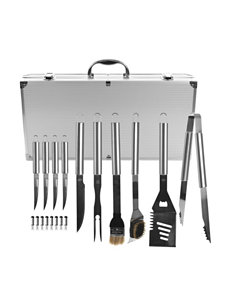 Chef Buddy Chrome Kitchen Utensils Camping & Outdoor Gear Grills & Grill Accessories Outdoor Entertaining