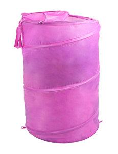 Lavish Home Pink Laundry Hampers Storage & Organization