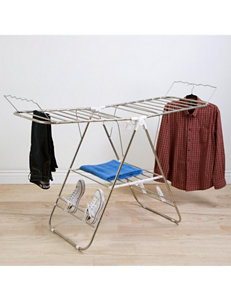 Lavish Home Silver Garment & Drying Racks