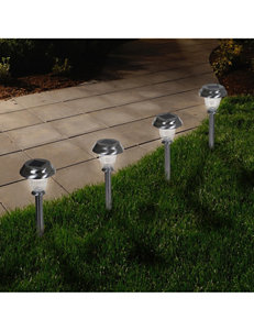 Trademark Global Gray Decorative Objects Lights & Lanterns Planters & Garden Decor Home Accents Lighting & Lamps Outdoor Decor
