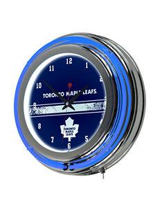 NHL Blue Decorative Objects Wall Art Wall Clocks Home Accents NHL Wall Decor