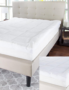 Blue Stone White Mattresses Mattress Pads & Toppers