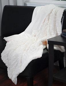 Lavish Home Cream Blankets & Throws