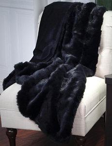 Lavish Home Black Blankets & Throws