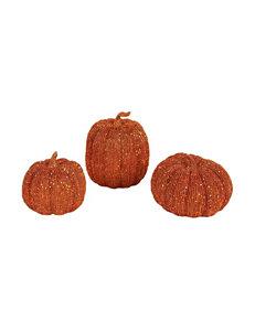 BuySeasons Orange Holiday Decor