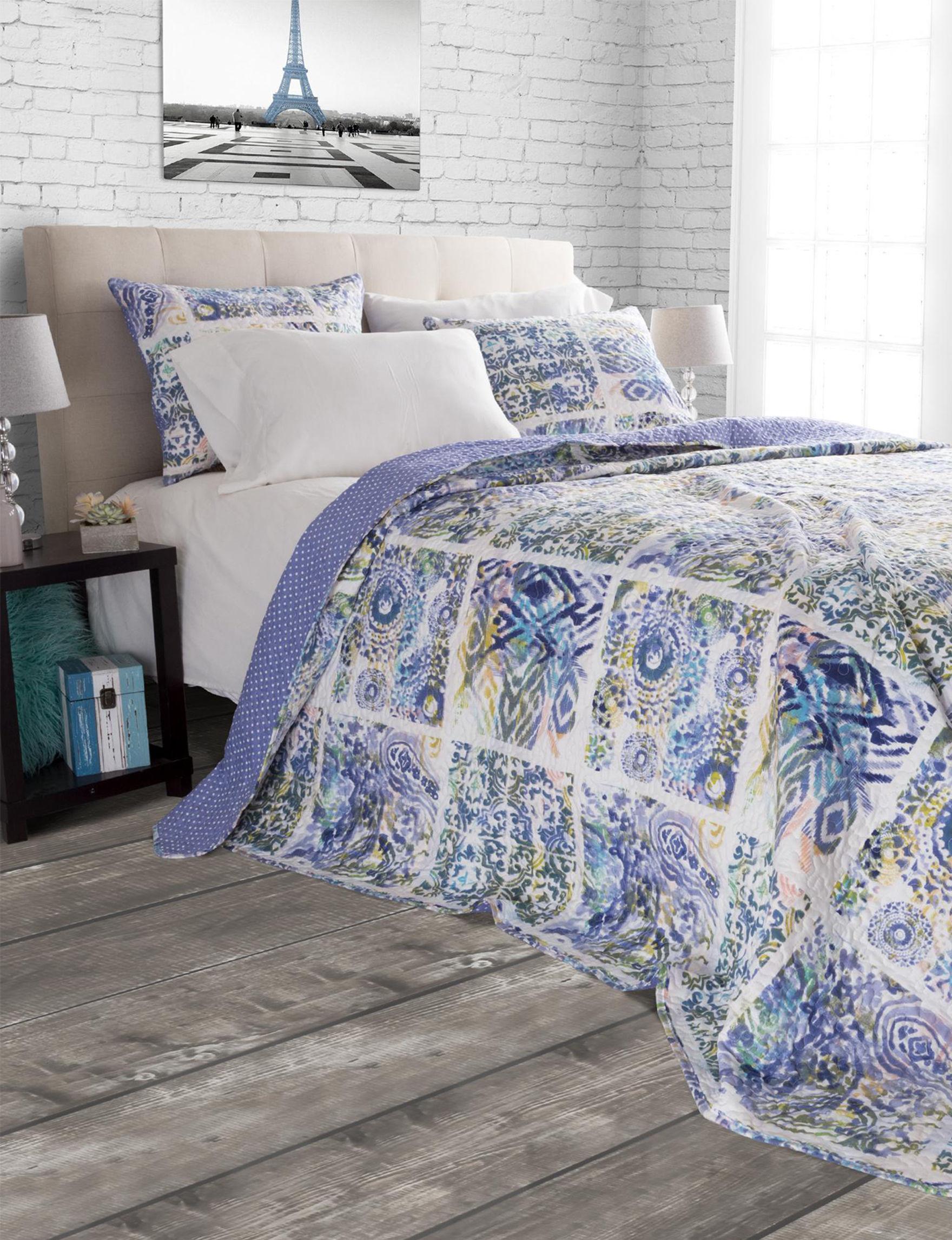 Lavish Home Blue Duvet Duvets & Duvet Sets Quilts & Quilt Sets