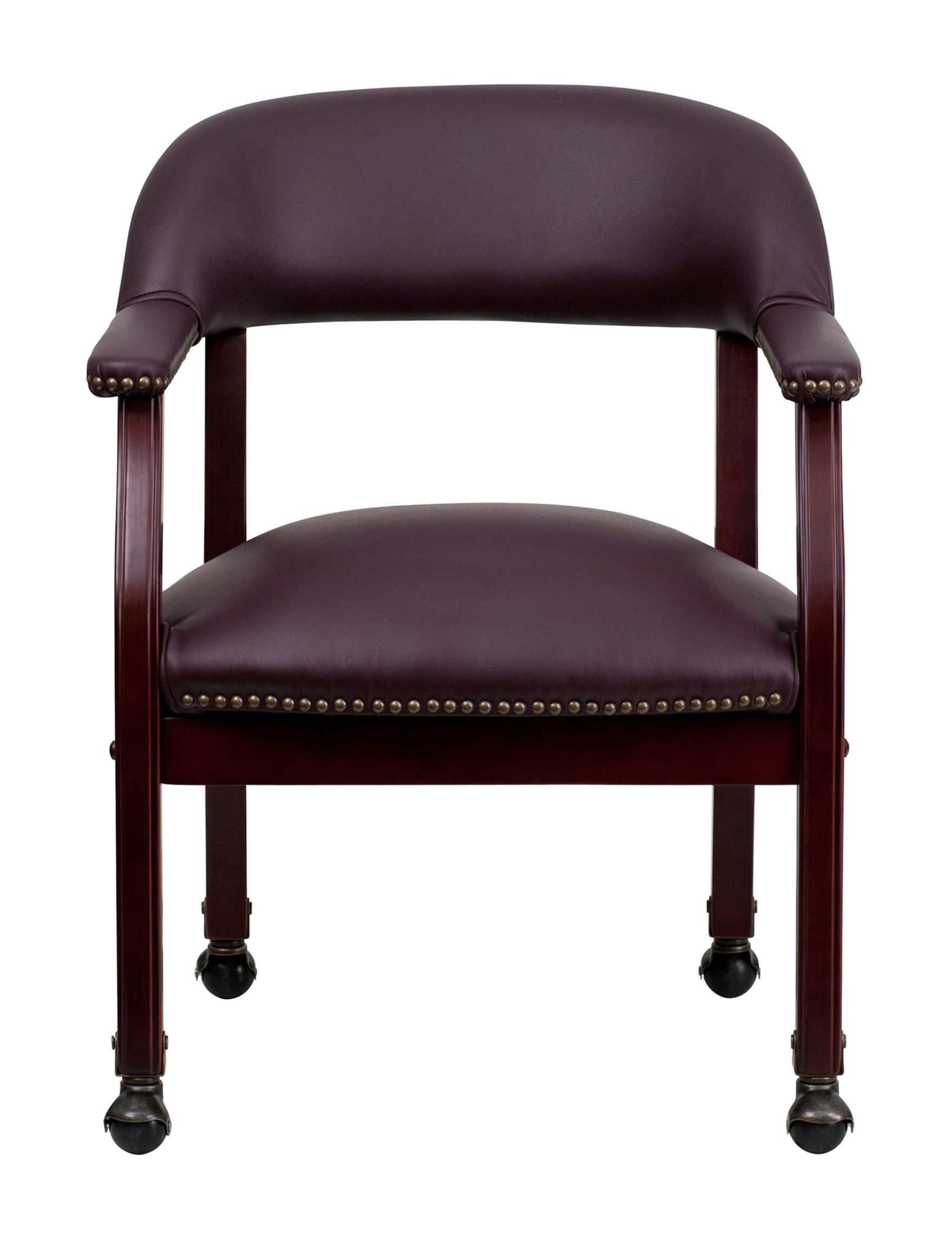 Flash Furniture Burgundy Office Chairs Home Office Furniture