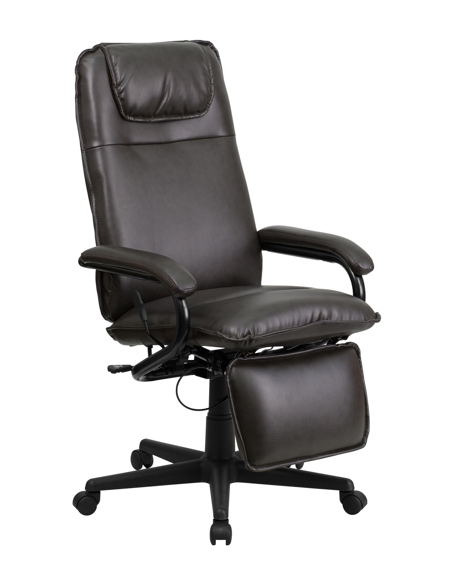 Flash Furniture Brown Office Chairs Home Office Furniture