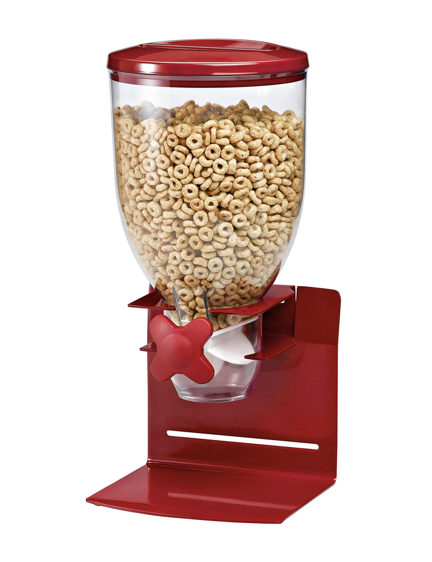 Honey-Can-Do International Red Food Storage Kitchen Storage & Organization
