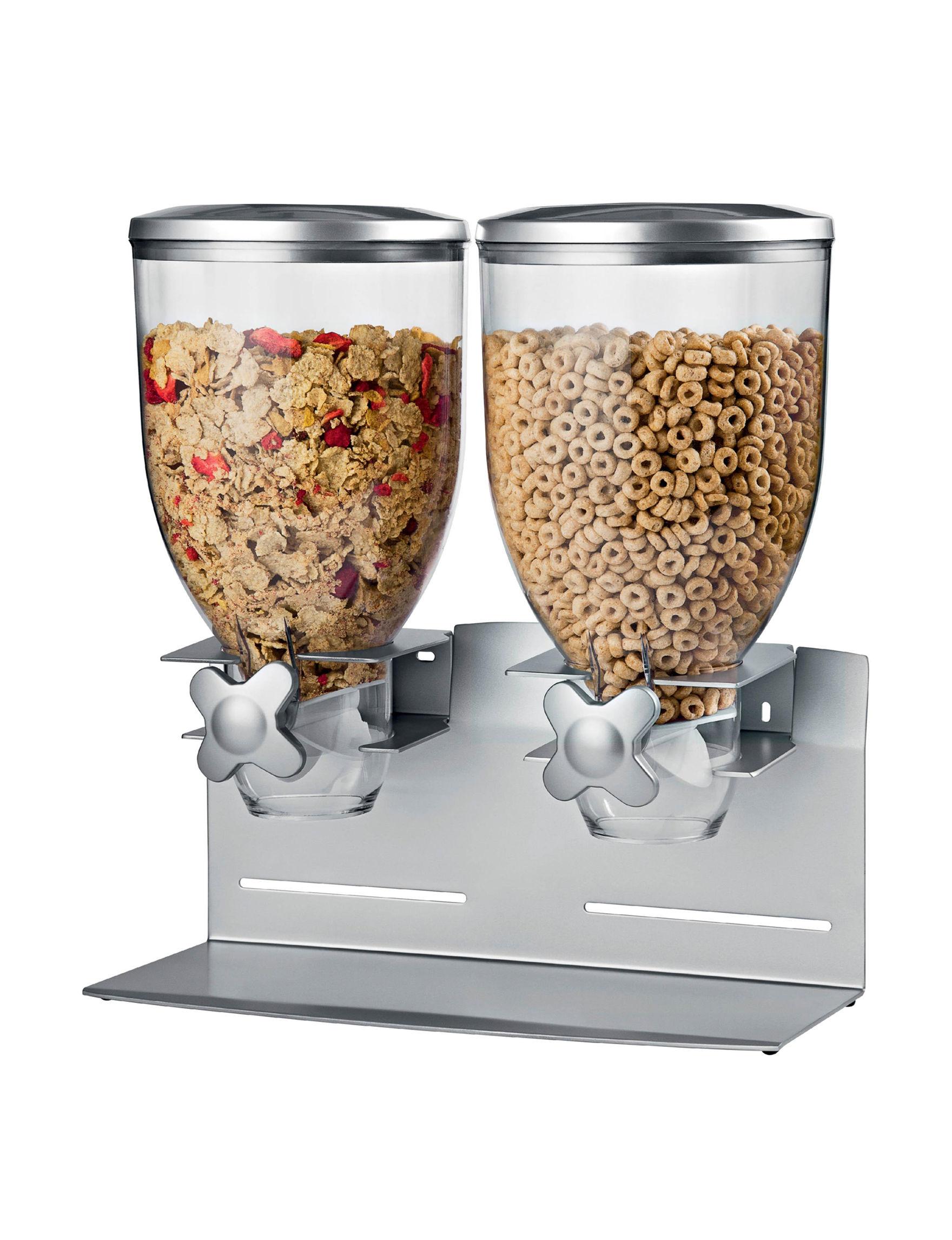 Honey-Can-Do International Silver Food Storage Kitchen Storage & Organization