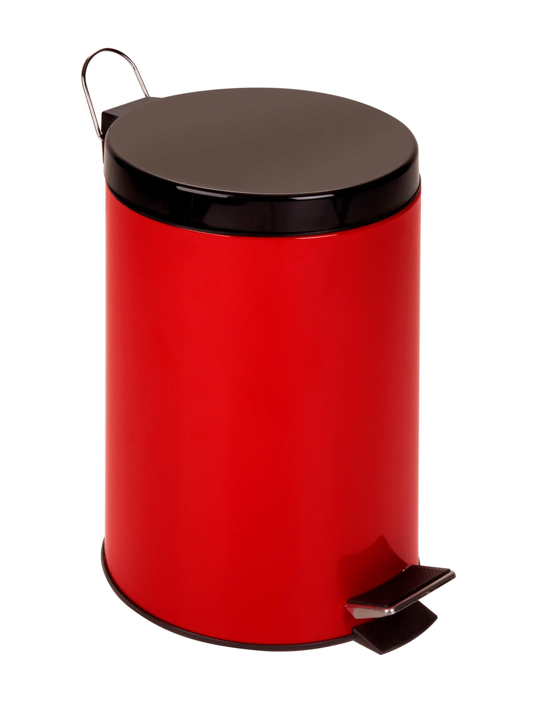 Honey-Can-Do International Ruby Trash & Recycling Bins Storage & Organization