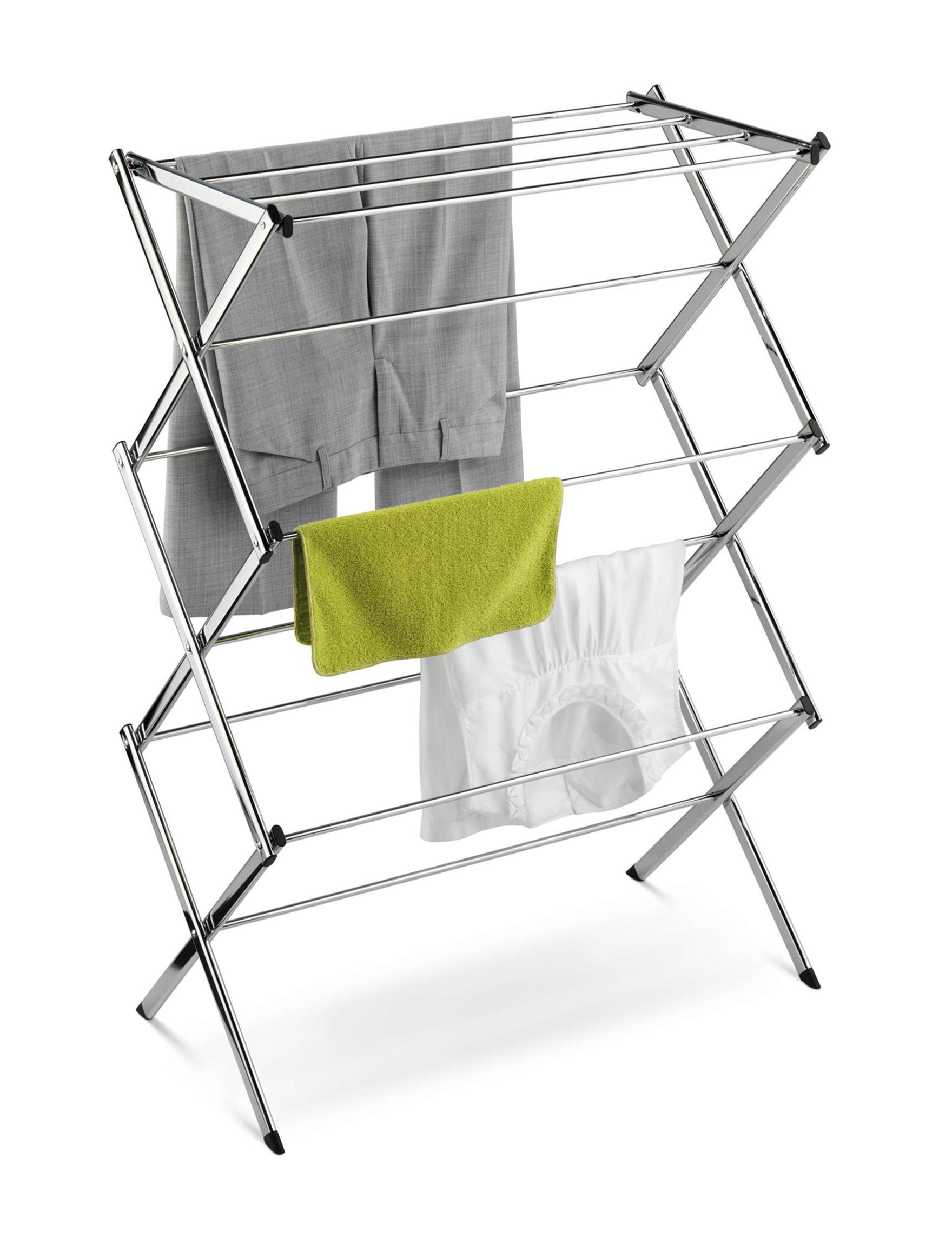 Honey-Can-Do International Silver Garment & Drying Racks