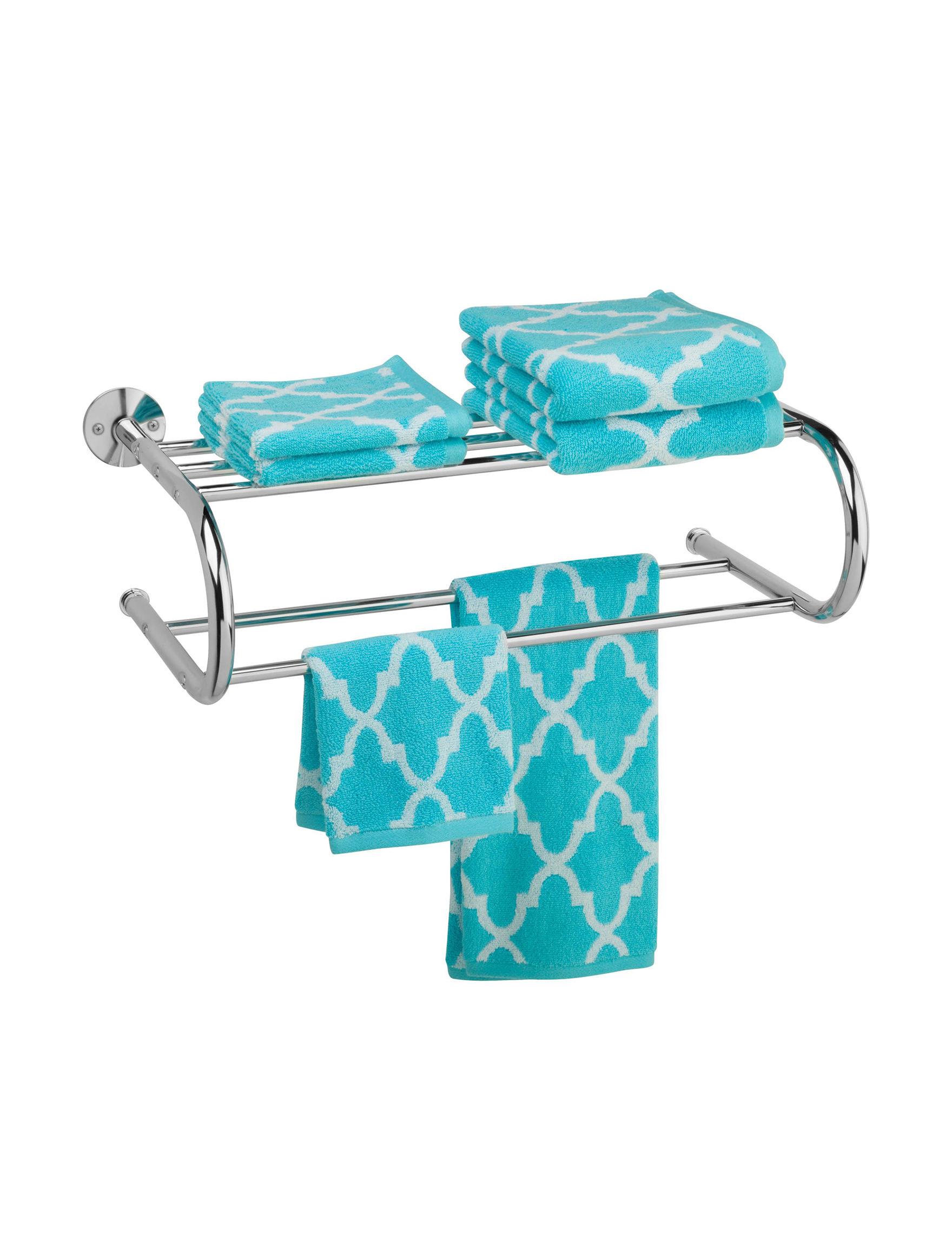 Honey-Can-Do International Chrome Bath Accessories