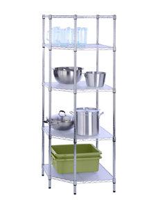 Honey-Can-Do International 5-Tier Corner Shelf