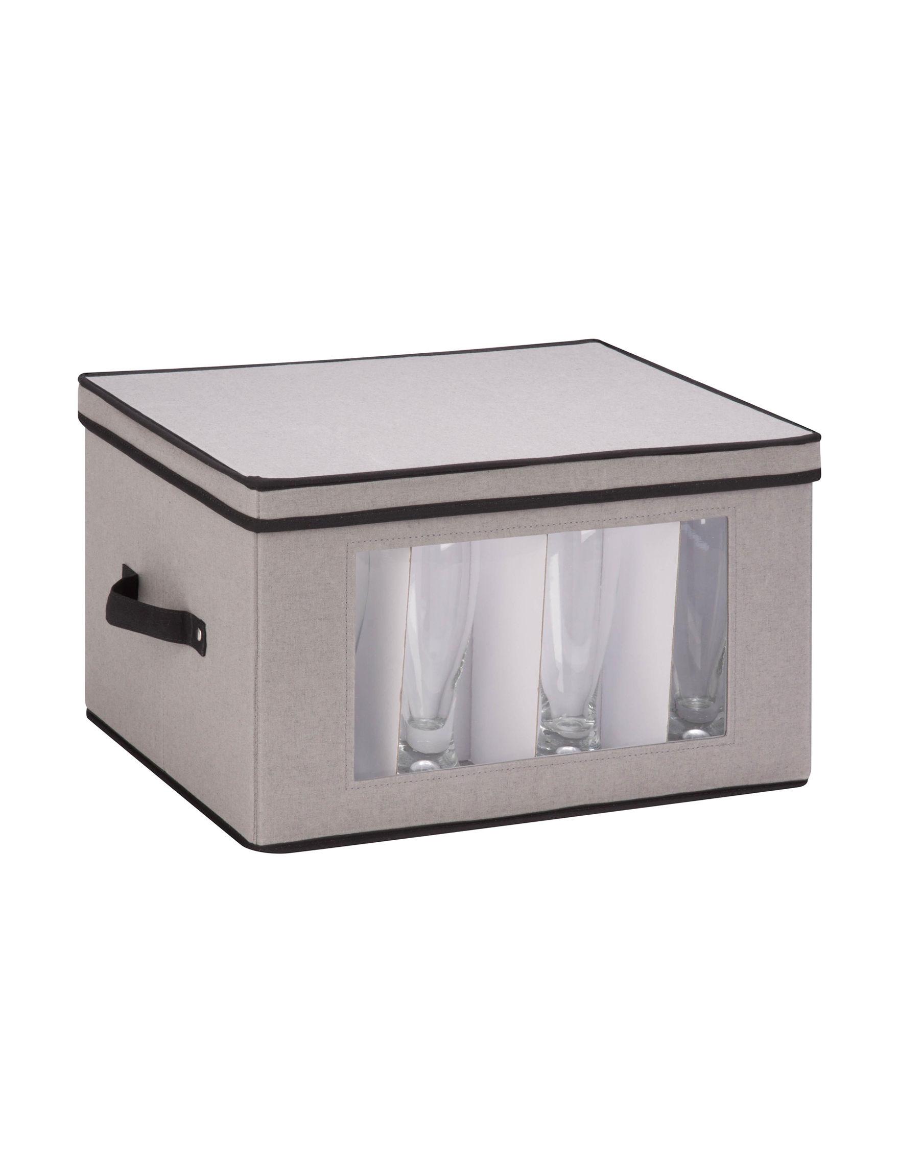 Honey-Can-Do International Grey Storage & Organization