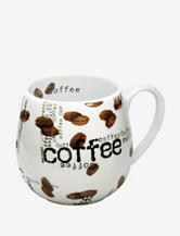 Konitz Set of 2 Coffee Collage Snuggle Mugs