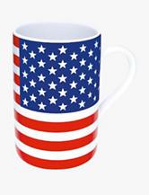 Konitz Set of 4 Stars & Stripes Mugs