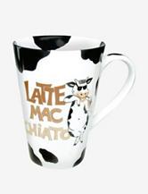 Konitz Set of 4 Mr. Latte Mac Chiato Mugs