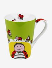 Konitz Set of 4 Mugs Globetrotter Ladybug