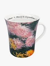 Konitz Set of 4 Les Fleurs Chez Les Peintres Monet Mugs