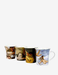 Konitz Set of 4 Assorted Angel Mugs