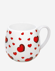 Konitz Set of 4 Little Hearts Snuggle Mugs