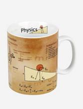 Konitz Set of 4 Science Physics Mugs