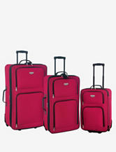 Travelers Club Genova Collection- 3 Piece Expandable Traveler's Set