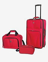 Travelers Club Bowman Collection- 3-pc. Traveler's Carry-On Set