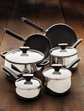 Paula Deen® Signature Stainless Steel 12-Pc. Cookware Set