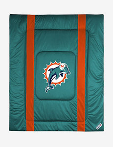 Sports Coverage Turquoise Blankets & Throws Comforters & Comforter Sets NFL
