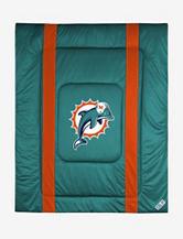 Miami Dolphins Sidelines Comforter