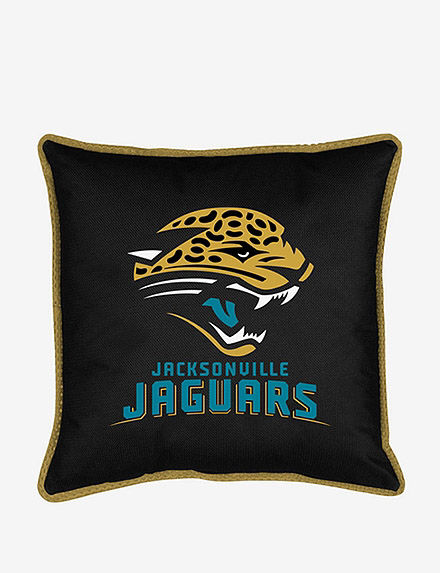 Sports Coverage Black Decorative Pillows NFL