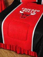 Chicago Bulls Sidelines Comforter