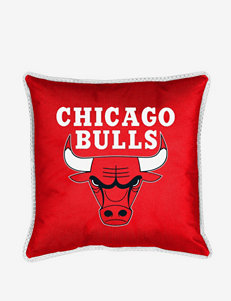 Sports Coverage Red Decorative Pillows