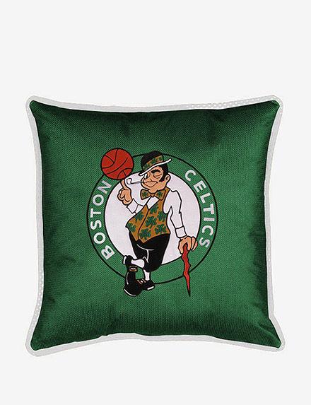 Sports Coverage Green Decorative Pillows NBA