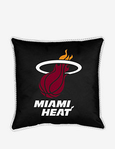 Sports Coverage Black Decorative Pillows