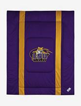 LSU Tigers Sidelines Comforter