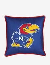 Kansas Jayhawks Sidelines Pillow