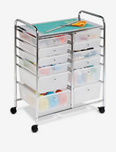 Honey-Can-Do 12 Drawer Rolling Cart
