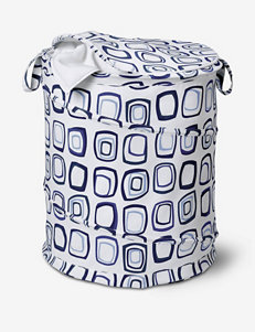 Honey-Can-Do Large Patterned Pop Open Hamper