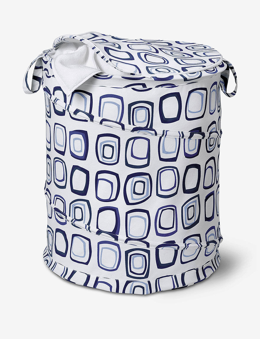 Honey-Can-Do International Blue Laundry Hampers
