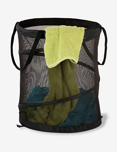 Honey-Can-Do International Black Laundry Hampers